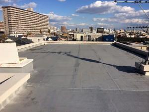 屋上シート防水 施工前